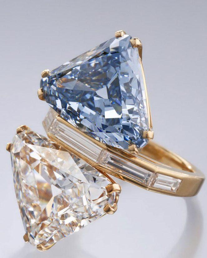 Les couleurs des diamants