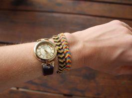Bracelet fil de laine DIY
