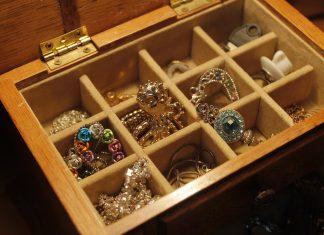 Boite bijoux argent