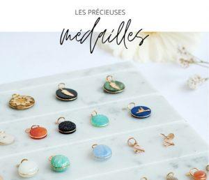 Médailles précieuses bijoux